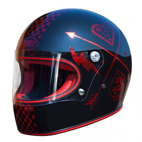 TROPHY HELME NX RED CHROMED
